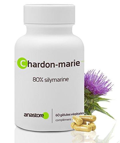 CARDO MARIANO * 200 mg / 60 capsule * Cardiovascolare, Chinetosi, Digestione (fegato), Donne (sindrome premestruale) * 100% soddisfatti o rimborsati * Fabbricato in Francia