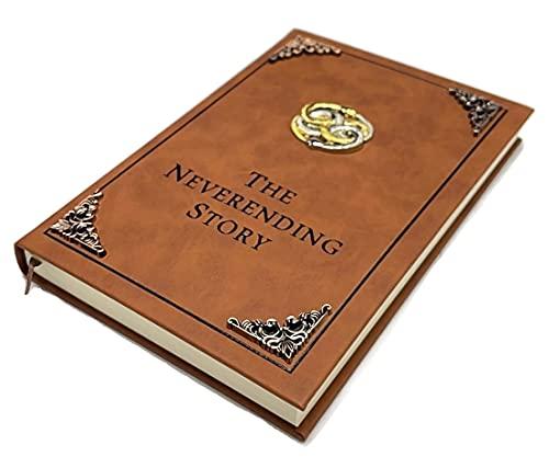 The Neverending Story Book Auryn Bastian Atreyu Replica Novel Brow