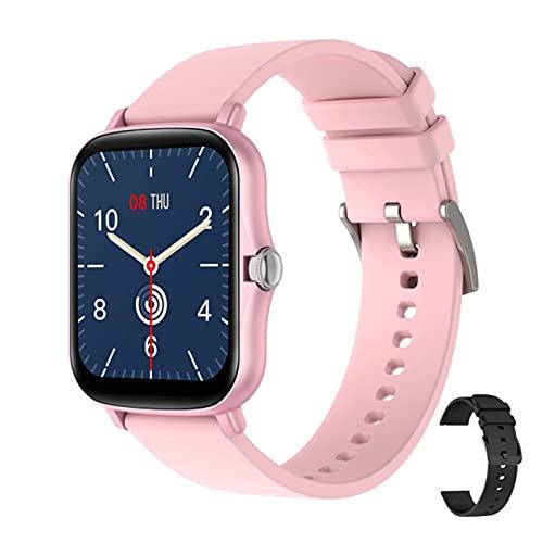 KMF Y20 Smart Watch De 1.7 Pulgadas Pantalla Táctil Completa Y Mujer Bluetooth Bluetooth Bluetooth Pulsera PK P8 Plus Watch Admite Varios Idiomas,H