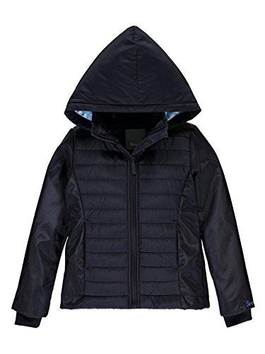 Bench Mädchen HYBRID Jacket Jacke, Blau (Essentially Navy Bl11341), 152 (Herstellergröße: 11-12)