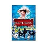 SDGVF Póster de Mary Poppins de 30 x 45 cm