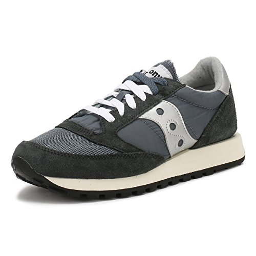 Saucony Unisex Jazz Original Vintage Sneaker, Blau (Blue/Navy/Silver 4), 49 EU
