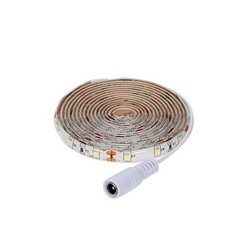 Hylotele Tira de Luces LED con Sensor de Barrido Manual Remoto Tira de Luces LED para decoración de árboles de Navidad de Cocina de Dormitorio Luces de Tira llevadas