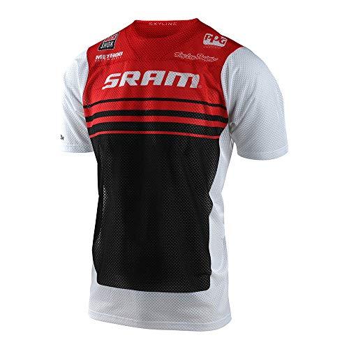 Troy Lee Designs Skyline Air Formula SRAM T-shirt per biciclette M