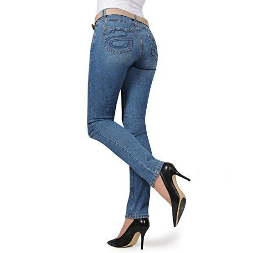 SEY® Jeans Maja blau Gr. 44 - (NENA Wave Blue GR.34/32)