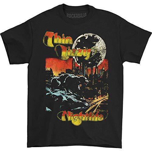 Thin Lizzy Men's Nightlife T-shirt XX-Large Black