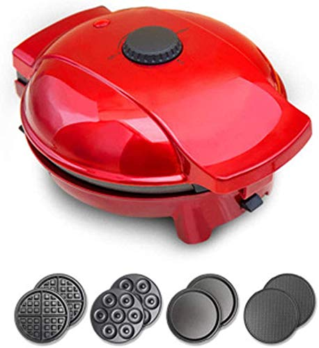 Donut Maker, afneembare, wafelijzer, Grill Strijkijzer, Exchangeable 0-200 ℃ Instelbare thermostaat