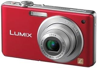 Panasonic Lumix DMC FS6 Digitalkamera (8 Megapixel, 4 fach opt. Zoom, 6,4 cm (2,5 Zoll) Display, Bildstabilisator) rot