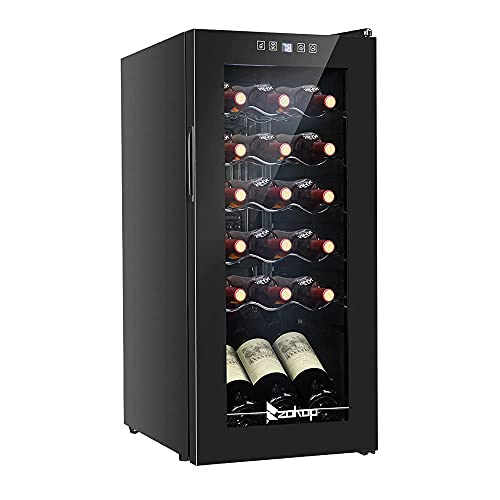 Armario de Vino refrigerado Armario de Vino electrónico Cocina Familiar Sala de Estar Bar Estante de Vino apilable Armario de Vino Botella de Vino Vertical