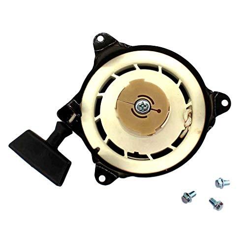 AISEN Seilzugstarter Starter & Schrauben Rasenmäherhandstarter für Gardena 46V mit Briggs & Stratton Motor Ersetzt 499706, 690101