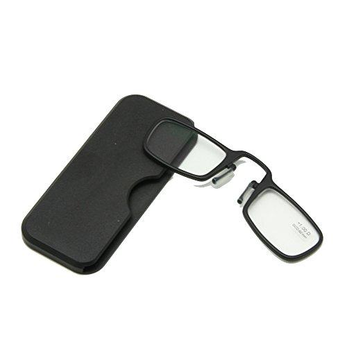 3,0 con Mini Flip Top Carrying Case per uomini e donne Metallo Telaio pieghevole occhiali da lettura 1 a
