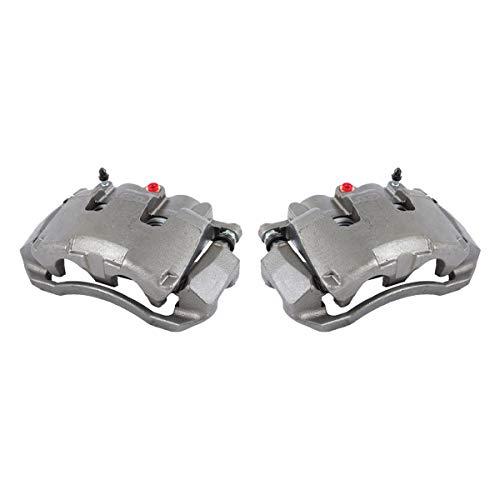 Callahan CCK11670 [2] FRONT [ 2WD 4WD ] Premium Grade OE Semi-Loaded Caliper Assembly Pair Set