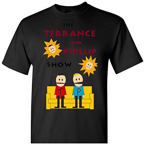 Mens Womens Tshirt South Park Terrance and Phillip Shirts for Men Women Cool Neck Friends