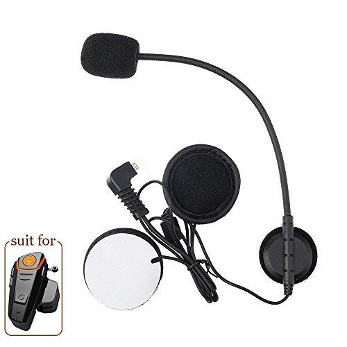 Anancooler BT-S2 - Auriculares Bluetooth impermeables para motocicleta con Bluetooth, auriculares intercomunicadores de interfono, manos libres, reproductor de MP3, radio FM para 2 o 3 conductores