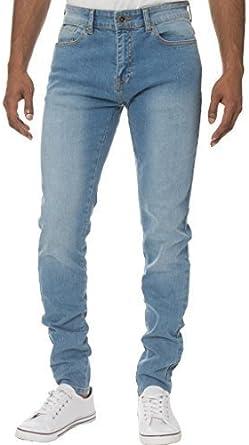 Kruze Designer Mens Skinny Slim Fit Jeans Casual Super Stretch Denim Trousers Pants