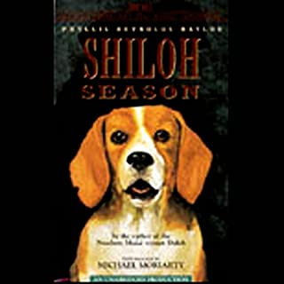 Shiloh Season audiobook cover art