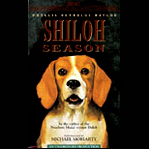 Shiloh Season audiobook cover art