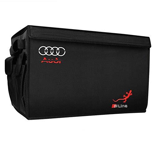 Del maletero del coche, el equipaje plegable, se puede ampliar fácilmente for satisfacer las necesidades de cualquier organización coche, que está hecho de tela resistente Oxford (apto for coches Audi
