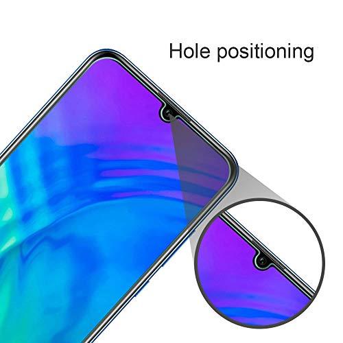 Widamin 2Pack, Panzerglas Schutzfolie für Honor 20 Lite, Displayschutzfolie, Hohe Auflösung Glas, [9H Härte], [Crystal Clearity], [No-Bubble] Compatible für Huawei Honor 20 Lite - 4