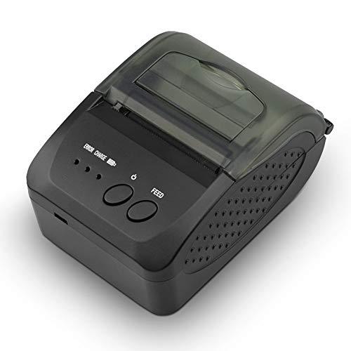 XUCHEN Mini-Etikettendrucker, Label Manager, bewegliche drahtlose Bluetooth Thermo-Belegdrucker, Unterstützung für Verschiedene Take-Out-Software