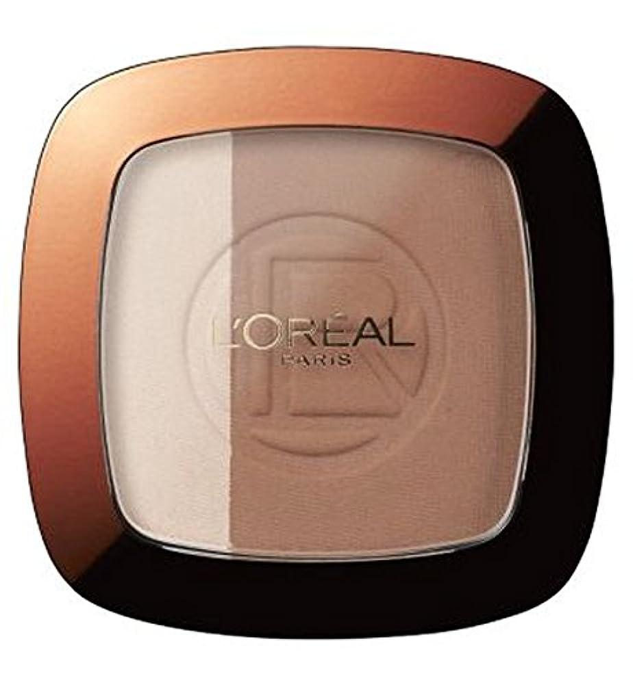 シャックル戦略状態L'Oreal Glam Bronze Duo Sun Powder Brunette - ロレアルグラムブロンズデュオ日粉末ブルネット (L'Oreal) [並行輸入品]