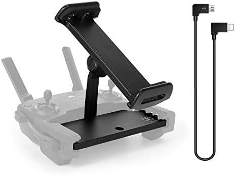 Mavic Mini Mini 2 Tablet Holder Mount with Micro USB to iOS Data Cable 4 11 inch Foldable Aluminum product image