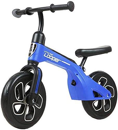 Balance-Auto für Kinder, kein Pedal Balance Bike Baby ZWeißunden Kein Pedal Bike 2-6 Year Für mädchen Jungen Baby Puzzle Kinderwagen,Blau