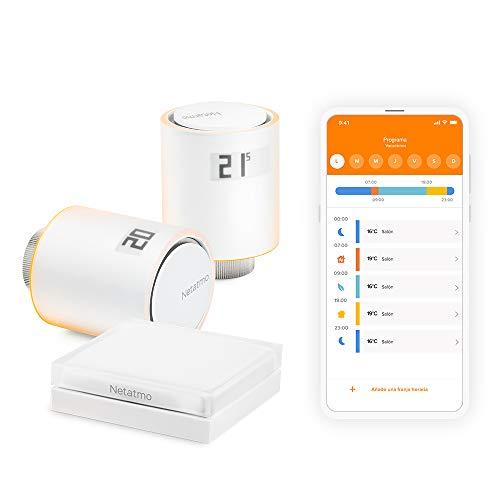 Netatmo Starter Pack Válvulas Wifi Inteligentes para Radiador, Paquet