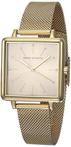 Armani Exchange Lola Reloj de cuarzo con esfera dorada AX5801