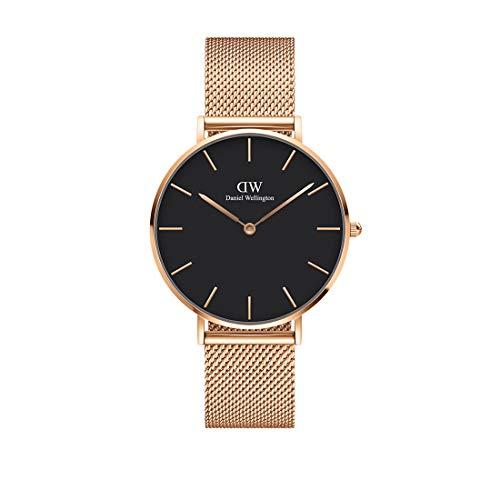 Daniel Wellington Petite Melrose, Reloj Oro Rosado, 36mm, Metálico, para Mujer y Hombre