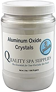 Aluminum Oxide Crystals - Microdermabrasion Crystals - 120 Grit, Pure White, 3lbs