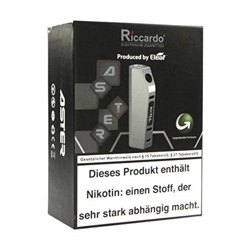 Riccardo Aster 75 W Box MOD, produced by Eleaf, grau, 1er Pack (1 x 1 Stück)