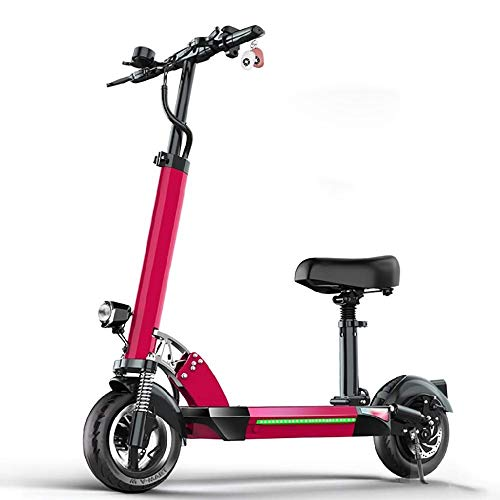 Fantastic Prices! CHENJIU Commuter-Shaped Electric Scooters, Handle and Seat Height Adjustable 500W ...