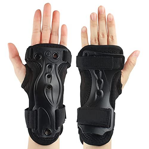 Andux Skidutökad handledsskydd hårda handskar justerbar HXHW-01