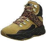 SCOTCH & SODA FOOTWEAR Celest, Zapatillas Altas Mujer, Multicolor (Camel/Black S144), 42 EU