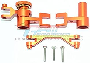 GPM Traxxas Unlimited Desert Racer 4X4 (#85076-4) Upgrade Parts Aluminum Steering Assembly - 1 Set Orange