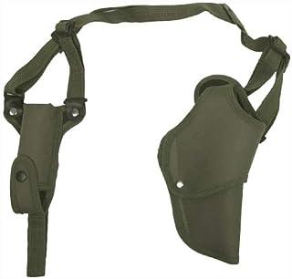 Pistolera de hombro (mano derecha, con bolsillo para cargador), color aceituna