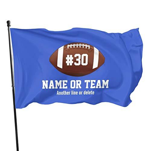 Generic Brands Bannière avec drapeau de football personnalisé