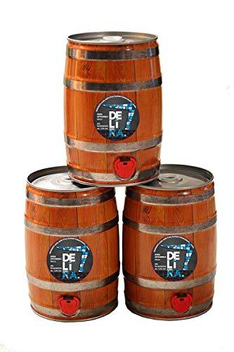 Birra Artigianale Cruda Italiana DELìRA Weiss - Fusto 5 Litri - Prodotta da I.C.B. Italian Craft Brewery (3)