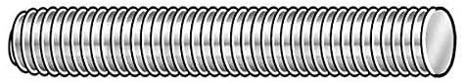 #8-32 Genuine x Super sale period limited 2' Plain 360 Brass Alloy Rod Threaded