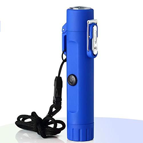 CIGARETTE CASE RDJSHOP Encendedor Eléctrico Y Linterna En Uno, Encendedor Recargable USB...