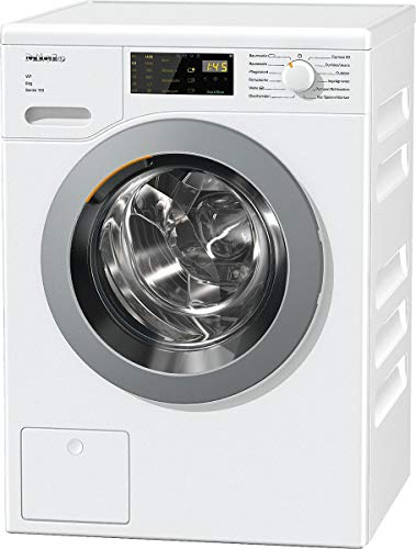 Lave linge Hublot Miele WDD025 - Lave linge Frontal - Pose libre - capacité : 8 Kg - Vitesse d'essorage maxi 1400 tr/min - Moteur à induction - Classe A+++