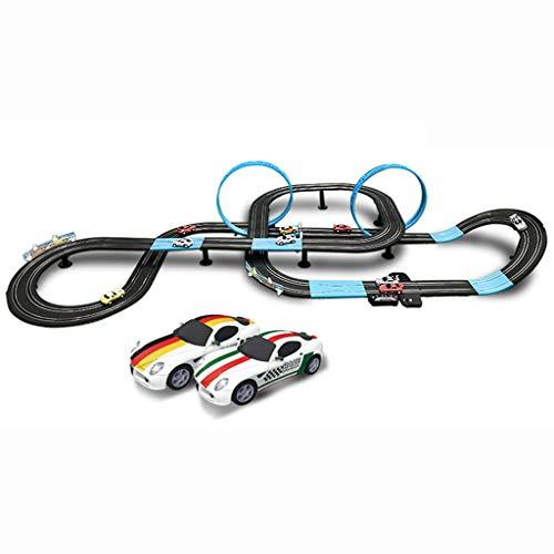 ZKW-Track 8.4M Coche de Ranura de Carreras de Coches Educativo R/C de Alta Velocidad de Control Remoto Determinado de la Pista de Deslizamiento Garage del Coche de Pista Escala 1:64 unión de Bloques