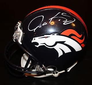 Gary Kubiak Signed Denver Broncos Football Mini Helmet w/COA #2