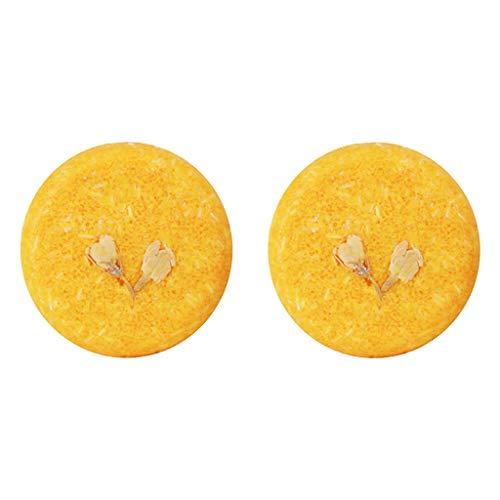oshhni 2x Champú Sólido 100% Orgánico Jabón Brillo Ecológico para El Cabello