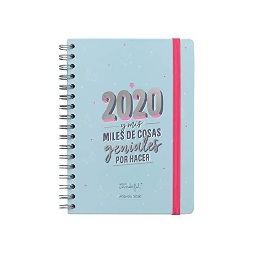 Agenda clásica 2020 Semana vista - 2020 y mis miles de cosas geniales
