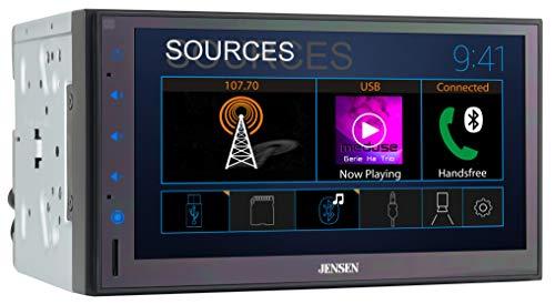 Jensen CMR682 6.8 inch Double DIN Bluetooth Car...