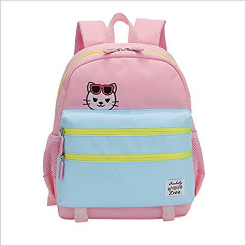 ZHAOYONGBING Childrens Backpack,Toddler Backpack Waterproof Preschool, Cute Cartoon, Waterproof Large Capacity, Student Shoulder Bag. Backpack For Kids. Aquamarine pink