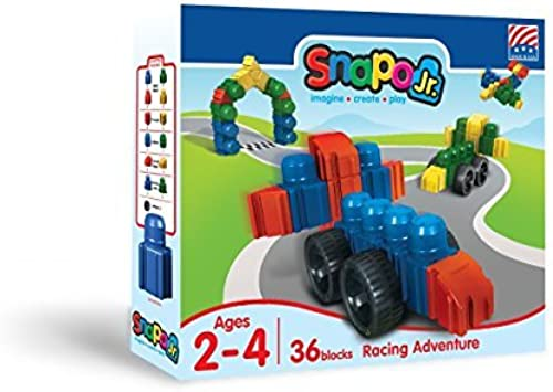 bienvenido a orden Snapo Jr Jr Jr Racing Adventure 36 Piece Set by Snapo  servicio considerado