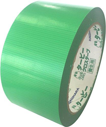 萩原 タテヨコカットテープ 幅50mmX25m グリーン [養生テープ・マスキングテープ]